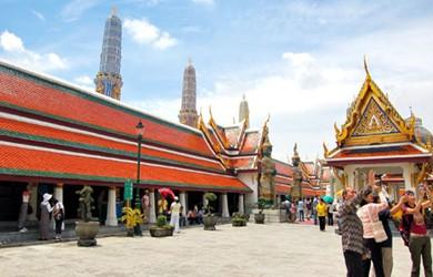 泰国南邦大佛塔寺