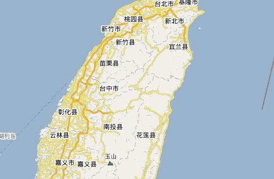 台湾旅游地图_台湾旅游指南
