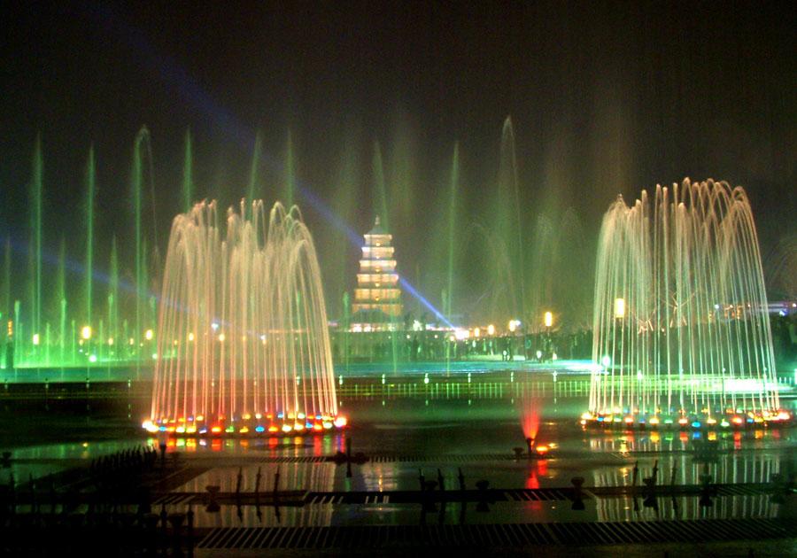 音乐喷泉,手工艺品,大雁塔北广场…&hellip
