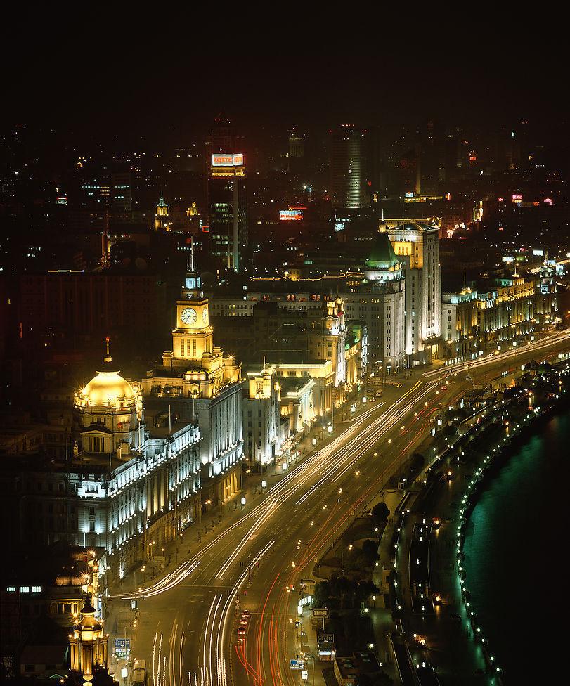 上海高处俯瞰风景