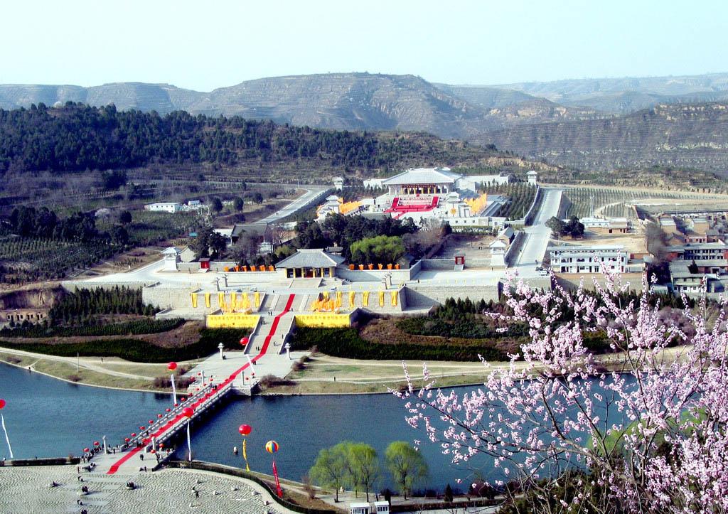 —宝塔山,延安市内参观重庆谈判的决策地&mdash