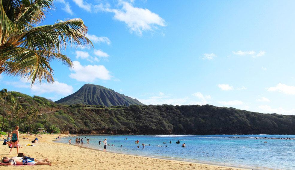 从美国大陆还有到茂宜岛,可爱岛和夏威夷大岛的直飞航班,但多数