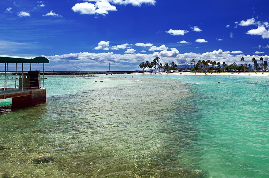 美国王企图征伐各地以统一夏威夷各岛屿时,可爱岛是唯一个反抗而不愿