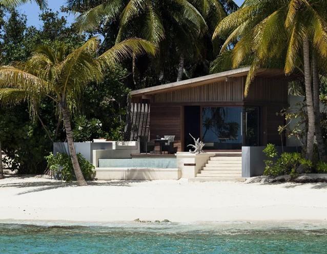 蛙步旅游网 出境旅游 马尔代夫旅游 柏悦哈达哈岛     :该别墅被天然