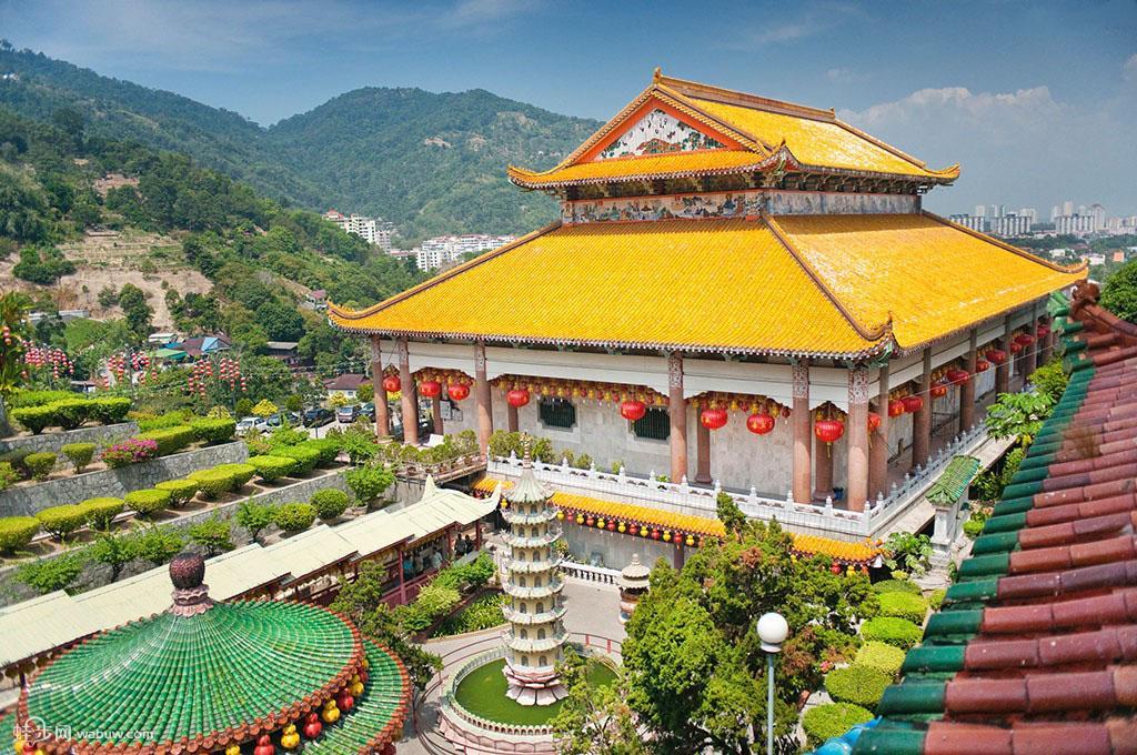 马来西亚槟城旅游景点介绍 - 蛙步旅游网