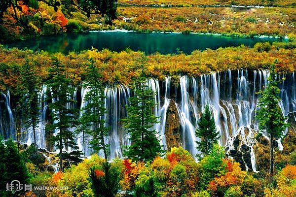 诺日朗瀑布