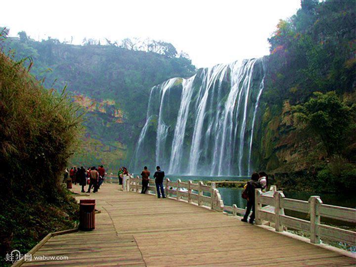 贵州黄果树大瀑布安顺黄果树瀑布旅游景点介绍图片 高清图片