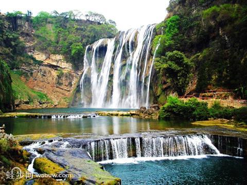 贵州黄果树大瀑布 安顺黄果树瀑布旅游景点介绍 高清图片